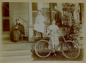 Bernice & Ethel's first bike